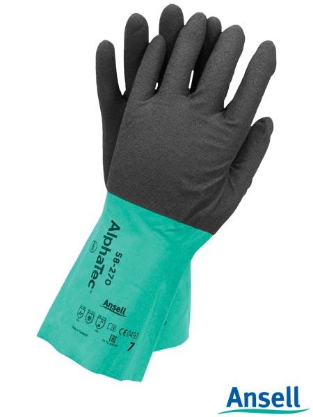 Antystatyczne rękawice ochronne AlphaTec 58-270
